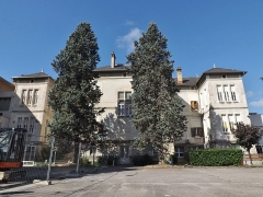Hôtel-Dieu - English: Sight of buildings of the former Hôtel-Dieu hospital, in Chambéry, Savoie, France.