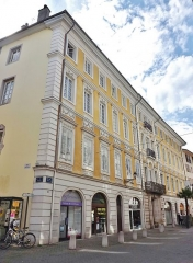 Hôtel des Marches - English: Sight of the Hôtel des Marches et de Bellegarde building, in Chambéry, Savoie, France.
