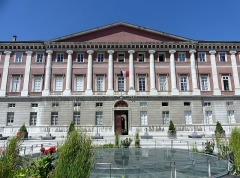 Palais de Justice - English: Sight of Chambéry courthouse, in Savoie, France.