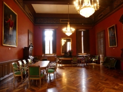 Palais de Justice - English: Sight of the Salon Napoléon ceremony room, in the Chambéry courthouse, Savoie, France.