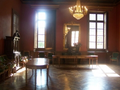 Palais de Justice - English: Salle Napoléon room, in the Chambéry courthouse in Savoie, France.