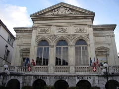 Théâtre municipal -  The Charles Dullin theater of Chambéry, France.