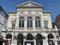 Théâtre municipal - English: View of théâtre Charles Dullin theater front, in Chambéry, Savoie, France.