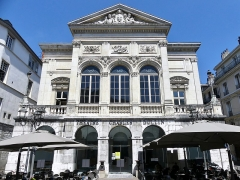 Théâtre municipal - English: Sight of the Théâtre Charles-Dullin theater, in Chambéry, Savoie, France.