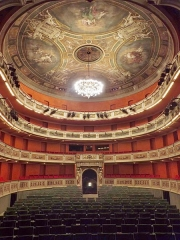 Théâtre municipal - English: Sight of the Great Room of the Charles Dullin theater of Chambéry in Savoie, France.
