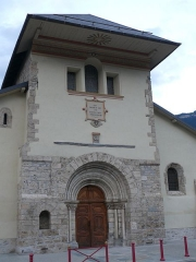 Eglise - English: Saint-Marcel's church in La Chambre (Savoie, Rhône-Alpes, France).