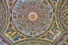 Sanctuaire de Notre-Dame des Vernettes - Français:   Notre-Dame des Vernettes, fresques du plafond, Peisey-Nancroix, Savoie.