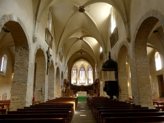 Cathédrale Saint-Jean - English: Sight of the nave and choir of Saint-Jean-de-Maurienne cathedral, in Savoie, France.