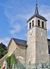 Eglise du Prieuré - English: Église Saint-Goerges du Prieuré church, in Saint-Jeoire-Prieuré near Chambéry in Savoie, France.