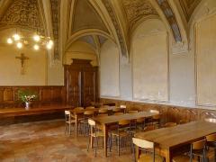 Abbaye de Hautecombe - English: Sight of the refectory of Hautecombe abbey, in Savoie, France.
