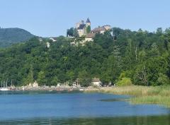 Château de Châtillon - English: Sight of château de Châtillon castle, at the Northern side of the lac du Bourget lake, in Savoie, France.