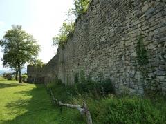 Domaine des châteaux d'Allinges ou des Allinges - Château-Vieux d'Allinges, Haute-Savoie, France