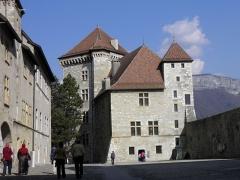 Château - Château à Annecy (Haute-Savoie, France).