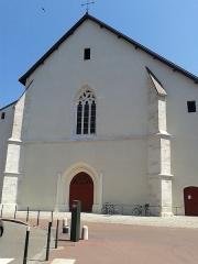 Eglise Saint-Maurice - Français:   Église Saint-Maurice d\'Annecy: façade en 2016 après restauration.