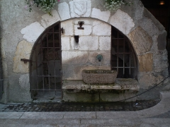 Fontaine Quiberet - This building is inscrit au titre des monuments historiques de la France. It is indexed in the base Mérimée, a database of architectural heritage maintained by the French Ministry of Culture,under the reference PA00118348 .