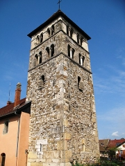 Eglise - Français:   Annecy-le-vieux Clocher de l\'église