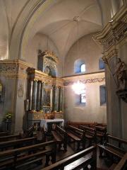 Eglise Saint-Michel - English: North transept of the Saint-Michael church of Chamonix (Haute-Savoie, France).