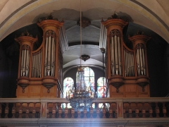 Eglise Saint-Michel - English: Organ of the Saint-Michael church of Chamonix (Haute-Savoie, France).