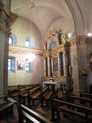 Eglise Saint-Michel - English: South transept of the Saint-Michael church of Chamonix (Haute-Savoie, France).