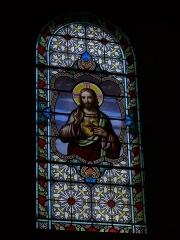 Eglise - English: Saint-Nicolas' church of Combloux (Haute-Savoie, Rhône-Alpes, France).