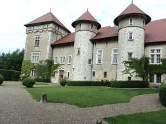 Château de Thorens, appelé par erreur Château de Sales -  Castelo dei
