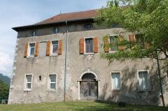 Château - Français:   Façade nord du château de Faverges
