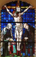 Eglise protestante -  Alsace, Bas-Rhin, Schiltigheim, Église protestante (PA00125226, IA67018001): Verrière commémorative Première Guerre Mondiale