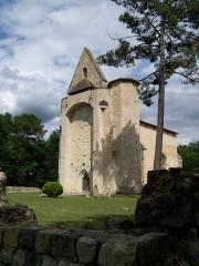 Eglise Saint-Clair de Gouts ou Goux - English: Iglesia de Gouts en Allons