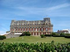 Hôtel du Palais - Français:   L\'Hôtel du Palais de Biarritz (ancienne villa impériale)