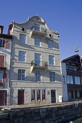 Maison de Ravel - English:  Birth house of Maurice Ravel.