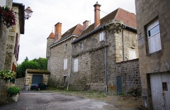 Château de Saint-Romain-Lachalm - This building is indexed in the Base Mérimée, a database of architectural heritage maintained by the French Ministry of Culture,under the reference PA00125286 .