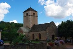 Eglise de la Purification de la Vierge -  Église de Berzé-la-Ville (71)