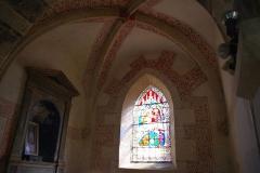 Eglise de la Purification de la Vierge -  Intérieur de l'église de Berzé-la-Ville (71)