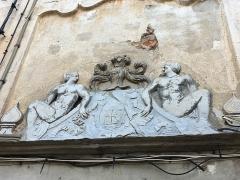 Immeuble dit Maison Castagnola - Italiano: Stemma del palazzo Castagnola