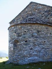 Eglise Santa Reparata - Corsu: Merusaglia, Rustinu (Corsica) - Chjesa Santa Riparata di Merusaglia, abside