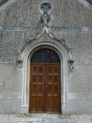 Eglise Saint-Léger - English: Saint-Léger-de-Rôtes (Eure, Fr) portail de l'église St.Léger (MH)