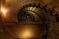Théâtre des Bouffes du Nord - English:   staircase of the Théâtre des Bouffes du Nord, in Paris