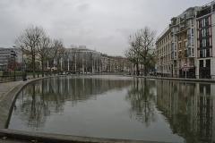 Canal Saint-Martin - Español: Vista del canal junto a esclusa