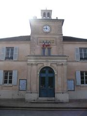 Mairie - English: The town hall of Marnes-la-Coquette, Hauts-de-Seine, France.