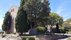 Eglise paroissiale Saint-André - Vue depuis le nord-est de l'église Saint-André de Montbolo