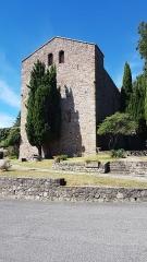 Eglise paroissiale Saint-André - Face est de l'église Saint-André de Montbolo