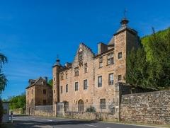 Château de Cougousse - English: Castle of Cougousse, commune of Salles-la-Source, Aveyron, France