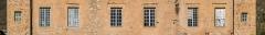Château de Cougousse - English: Windows of the Castle of Cougousse, commune of Salles-la-Source, Aveyron, France