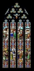 Eglise des Carmes ou église Saint-Thomas-Becket - English: Stained-glass window of the Saint Thomas church of Figeac, Lot, France