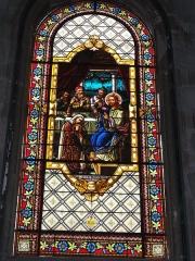 Eglise Saint-Vivien - English: Église Saint-Vivien de Saintes, vitrail 11