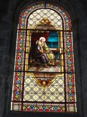 Eglise Saint-Vivien - English: Église Saint-Vivien de Saintes, vitrail 02