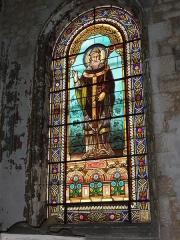 Eglise Saint-Vivien - English: Église Saint-Vivien de Saintes, vitrail 07