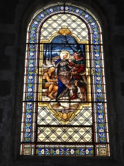 Eglise Saint-Vivien - English: Église Saint-Vivien de Saintes, vitrail 01