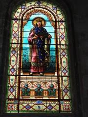 Eglise Saint-Vivien - English: Église Saint-Vivien de Saintes, vitrail 10