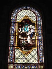 Eglise Saint-Vivien - English: Église Saint-Vivien de Saintes, vitrail 05